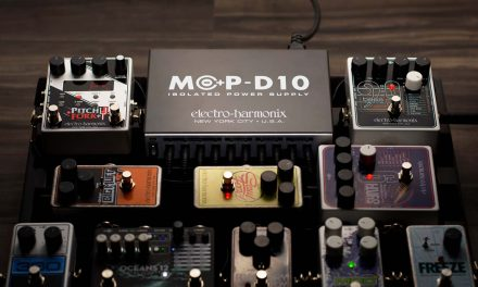 Electro-Harmonix Introduces the MOP-D10 Isolated Multi-Output Power Supply