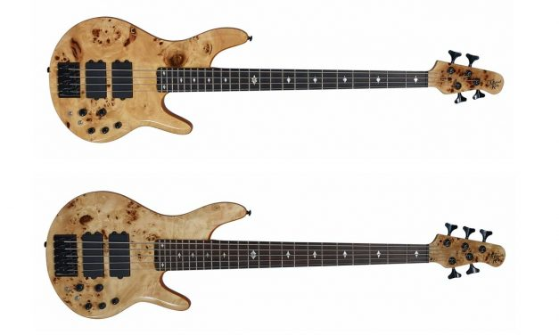 Michael Kelly Guitars Launches New Pinnacle 4 and 5 Bass Guitars