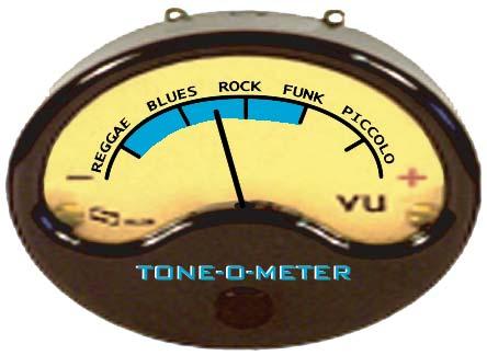 Radial Tonebone Bassbone V2 Pedal - Tom O Meter