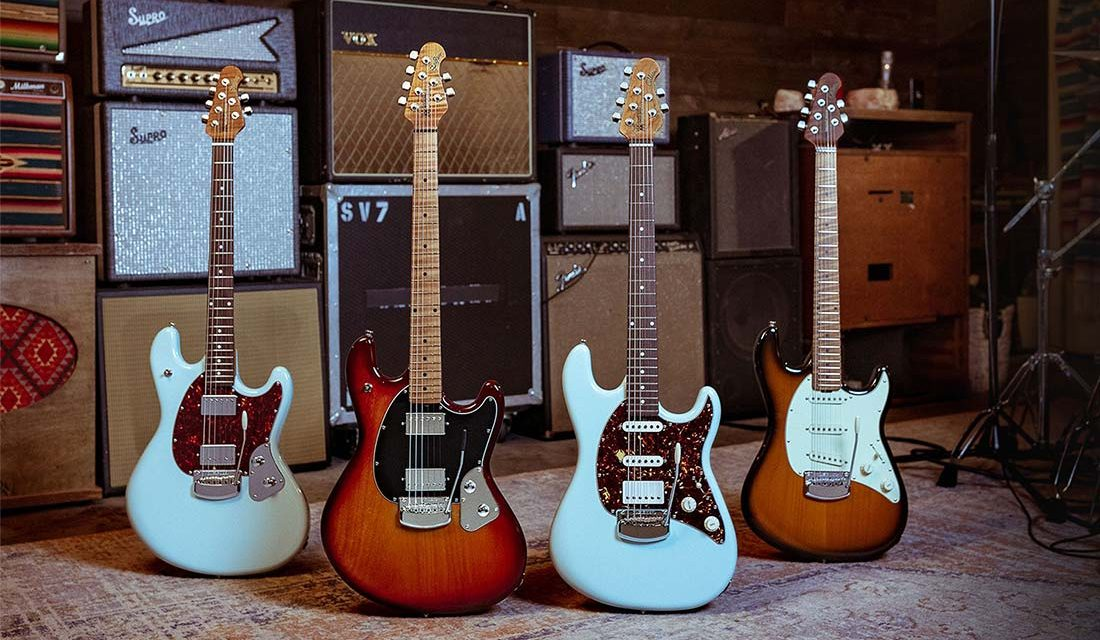 Ernie Ball Music Man 2021 Collection Now Available!