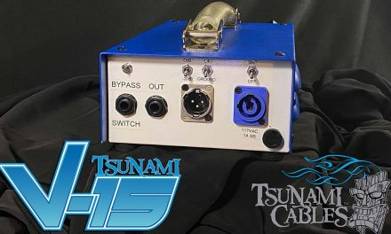 The New Tsunami V-15 Preamp is Here!